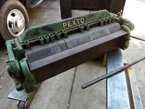 Pexto Px 24 a Box And Pan Finger Brake 2