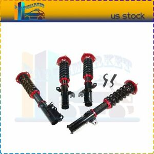 For 2007 2011 Toyota Camry Coilovers Shocks Suspension Springs Kits Adj Height