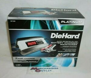 Diehard 6 Volt And 12 Volt Battery Charger Maintainer