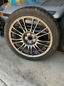 Subaru Impreza Sti Limited Wheel Forged Bbs 18 Rim 9 Split Spoke Oem 2008 2014