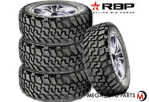 4 Rbp Repulsor M t Ii 33x12 50r20lt 119q 12ply Jeep Truck Suv Off road Mud Tires