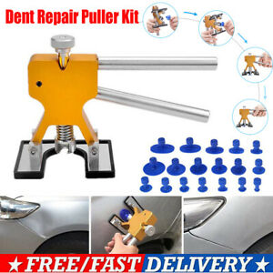 Car Paintless Dent Repair Dint Hail Damage Remover Puller Lifter 18 Tab Tool Kit