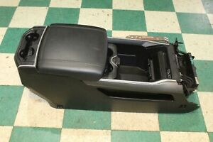Dmg 2019 2020 Ram 1500 Black Leather Front Floor Center Console Assembly Oem