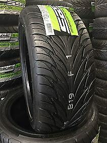 4 X New Federal Ss595 P205 40r17 Tires