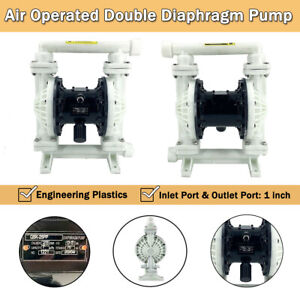 Air Operated Double Diaphragm Pump 30 Gpm For Industrial Use 1 Inlet Outlet
