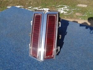 1974 Olds Oldsmobile Cutlass Right Tail Light Supreme