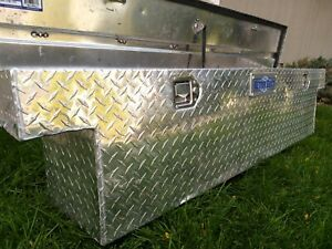Truck Tool Box Pickup Bed Storage Aluminum Better Built Tools Container Used