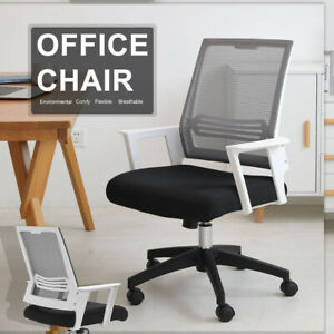 Office Chair Mid Back Mesh Office Computer Swivel Desk Task Chair W Armrests Us