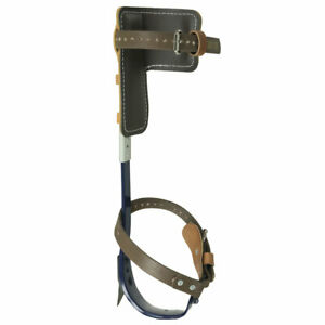 Pole Climbers With 1 1 2 inch Gaffs Complete Set Klein Tools Cn1972ar