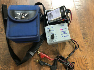 Tempo Model 177 Precision Tone Generator W Leads Case Battery Yes Works