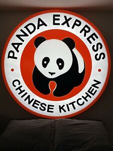 5 5ft 3d Panda Express Indoor outdoor Led Lighted Sign