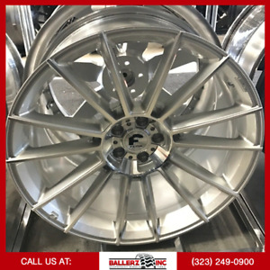 22x10 Forgiato Flow 002 5x115 Wheel And Tire Package