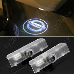 2x Logo Laser Ghost Shadow Courtesy Led Door Lights For Nissan Altima 2003 2019