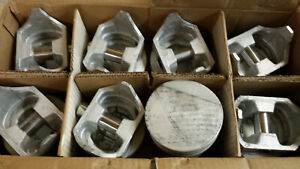 409 Chevy Pistons 040 Over Cast 1962 Thru 1965 956p