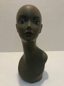 Realistic Mannequin Head For Wigs jewelry hats e mp056