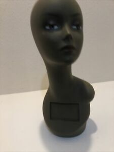 Realistic Mannequin Head For Wigs jewelry hats e mp063