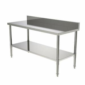 24 x60 X 36 Commercial Stainless Steel Heavy Duty Food Prep Work Table Kitchen