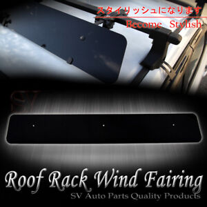 Fit Audi Roof Rack Cross Bar Noise Reduce 43 Wind Fairing Air Deflector