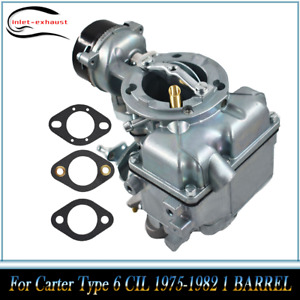 Carburettor For Ford Yf For Carter Type 240 250 300 6 Cil 1975 82 1 Barrel