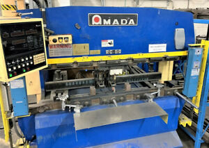 Amada Rg50 55 Ton Cnc Press Brake With Nc9ex Assetexchangeinc