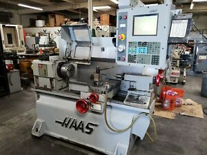 Haas Tl 1 Cnc Flat Bed Lathe Turning Center Usb Tooling Loaded 2006