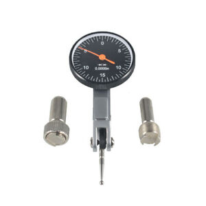 Precision Black 030 Test Indicator 0005 Gr Dial Reading 0 15 0