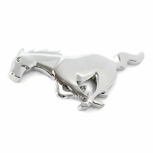 1994 2004 Mustang Front Grille Chrome Running Horse Pony Emblem Oe Quality Ford