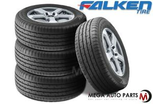 4 Falken Sincera Sn250 A s 225 50r17 98v All Season Premium Grand Touring Tires