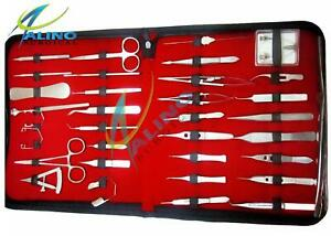 Basic Eye Set Of 45 Instruments Ophthalmic Lab Surgical