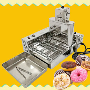 Kolice 4 Row Mini Automatic Doughnut Maker Donut Machine Donuts Frying Machine