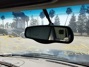 Rear View Mirror With Temp And Compass Info Chevy Silverado 1500 00
