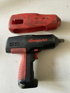 Snap On 1 2 Drive Cordless Impact Wrench Ct3850 tool Only Used