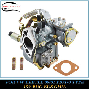 Carburetor Fit For Vw Beetle 30 31 Pict 3 Type 1 2 Bug Bus Ghia