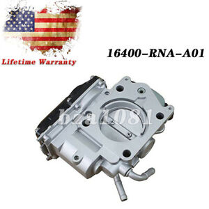 Tested Throttle Body For 2006 11 Honda Civic Dx Ex Dx Lxs R18 1 8l 16400 rna a01