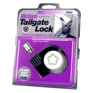Truck Tailgate Security Anti Theft Lock Universal By Mcgard 76029