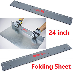 24in Tin Sheet Roofing Spout Duct Work Channel Bending Hvac Metal Folding Tools