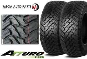 2 Atturo Trail Blade M t 37x13 50r20 121q E 10 Off road Jeep Truck Mud Tires