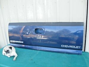 1999 2007 Chevrolet Silverado 1500 Truck Bed Tailgate Oem Chevy Gm Gmc Blue
