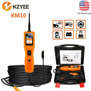 Km10 12v 24v Powerscan Circuit Tester Electrical Power Avometer Probe Tool New
