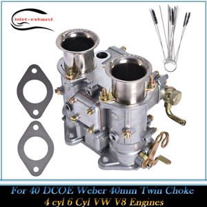 Carburetor 19550 174 For 40 Dcoe Weber 40mm Twin Choke 4 Cyl 6 Cyl Vw V8 Engines