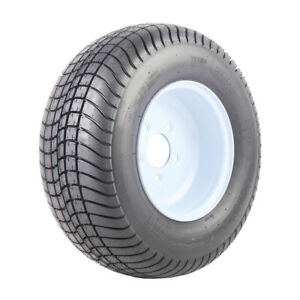 2pcs 205 65 10 20 50 8 0 10 Car Spare Replacement Rubber Trailer Tire With Rims