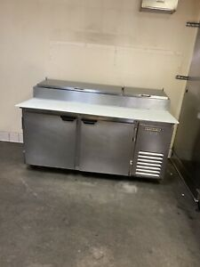 Beverage air Pizza Prep Table commercial Refrigerator