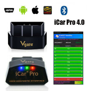 Vgate Icar Pro Ble 4 0 Obd2 Diagnostic Tool Car Fault Code Reader Android Iphone
