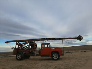 Speedstar Cable Tool Rig Hard Rock No Problem Water Well Drilling Rig