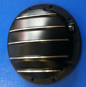 10 Bolt Rear End Differential Cover Gm Black Aluminum Fits Camaro Chevelle