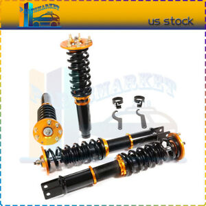 For 2008 2012 Honda Accord Coilovers Shock Suspension Spring Kits Adj Height