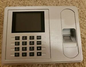 2 4 Tft Biometric Fingerprint Attendance Time Clock Employee Payroll C3150