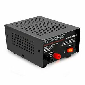 Universal Compact Bench Power Supply 6 Amp Linear Regulated Home Lab Bencht