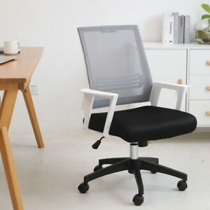 Swivel Office Mesh Chair Computer Executive Ergonomic Mid Back Desk Task Chairs