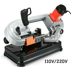 Variable Speed Saw Mini Metal Woodworking Band Saw Cutting Machine